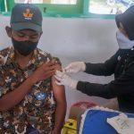Vaksinasi di Ternate
